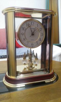 時計が変ん